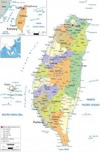 Taiwan Map Master
